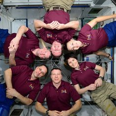 """""""#Exp42 Crew"""" #AstroButch  Photo Credit Barry Wilmore:  #nasa #nasajsc #spacestation #internationalspacestation #explore #exploration #photography #ISS #Exp42 #cupola #EarthArt #moment #space #Futura42"""