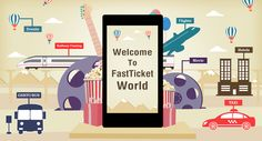Join the Fastticket.in World with #Movie & #Event Ticket Booking, #Mobile Recharge, #Bus, #Flight & #Hotel Booking, Order a #Cab...!!!  Visit Us at: www.fastticket.in