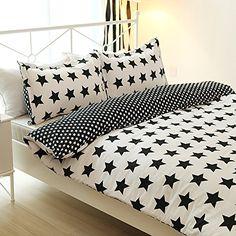 Vaulia Lightweight Print Stars Pattern Duvet Cover Sets, Twin Size Vaulia http://www.amazon.com/dp/B00ZWLQAPQ/ref=cm_sw_r_pi_dp_een-vb05VWNCR