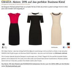 Michaela Jedinak featured in Grazia online: