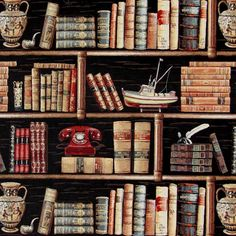 Gobelin Bookshelf 2 su tessuti.com