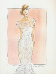 Lela Rose Spring 2013, Click through to see what inspired the designer.