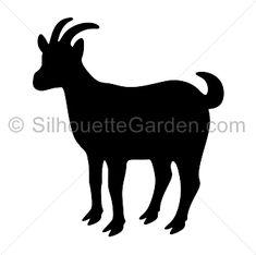 Download 10 Silouette Ideas In 2020 Goat Art Goats Cute Goats
