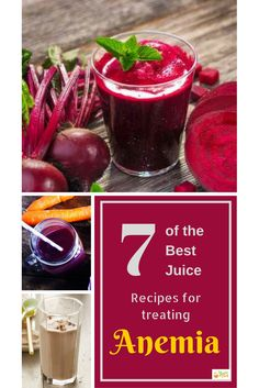 7 Juice Recipes for Anemia - The Juice Chief