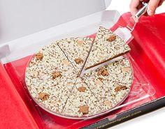 Pizza de Chocolate Crocante