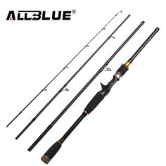 ALLBLUE 2017 New Fishing Rod Spinning Casting Rod 99% Carbon Fiber Telescopic 2.1M 2.4M 2.7M Fishing Travel Rod Tackle peche free shipping worldwide