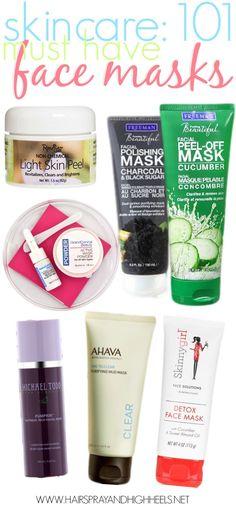 Best Face Masks: Skincare 101 #skincare #bestfacemasks