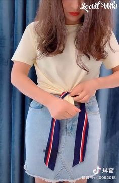 Discover thousands of images about Clothes Hacks! Sewing Hacks, Sewing Tutorials, Casual Outfits, Cute Outfits, Diy Fashion, Womens Fashion, Smart Outfit, Tie Shoes, Clothing Hacks