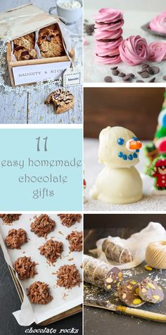 Surprise friends and family with these 11 super easy homemade chocolate gifts. From some of the best bloggers!