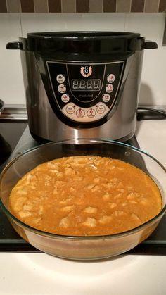 Pollo al curry con leche de coco estilo hindú en olla gm d. Blog sobre recetas de cocina con olla programable GM D