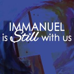 IMMANUEL is still with us... Ps. Daan will be preaching tonight again at @harvestcotn 5.30pm #Christ with, in and though us.
