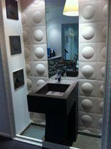 ceramic wall tile: 3D 24X24 CM DÉCOR BULLES EN RELIEF - RÉF 38S Normandy Ceramics - Carrelage Design
