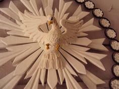 Resultado de imagem para como fazer um esplendor do divino espirit santo