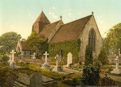 Hollington Church, Hastings, UK  1890-1900