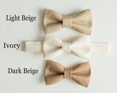 Boys ties for groomsman, ring bearers or any occasion to dress up and look great by LittleBoySwag