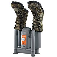 The DryGuy™ Force Dry DX can dry two pairs of boots, shoes, or gloves in about an hour.   $80.00