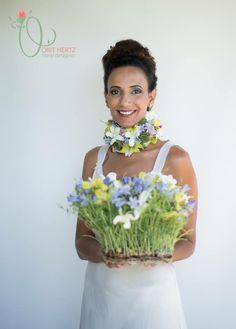 Floral design & photography: Orit Hertz Model: Hadas Weisman