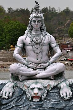 "danielwamba: "" Manfred Sommer India - Uttarakhand - Rishikesh - Shiva - 21 Shiva, meaning ""The Auspicious One""), also knwn as Mahadeva (""Great God""), is a popular Hindu deity. Shiva is regarded as one of the primary forms of God. He is the Supreme. Lord Shiva Statue, Lord Shiva Pics, Lord Shiva Hd Images, Lord Shiva Family, Rishikesh, Lord Shiva Hd Wallpaper, Lord Ganesha Paintings, Lord Shiva Painting, Lord Shiva Sketch"