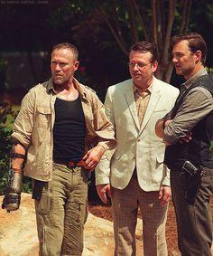 Woodbury men of The Walking Dead