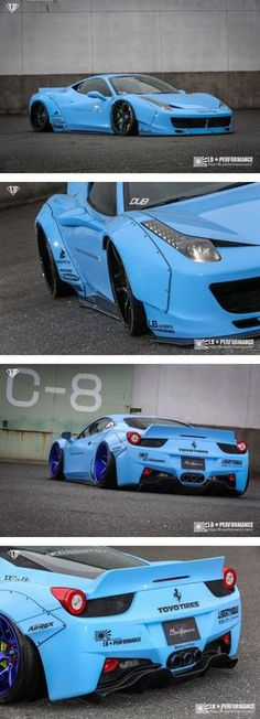 FERRARI 458 LB-WORKS Body kit Full bumper type Complete kit・LB★PERFORMANCE