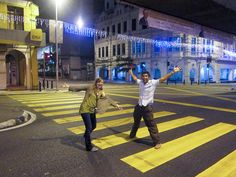 Crossing the street at in Kuala Lumpur, Malaysia Travel Around The World, Around The Worlds, Malaysia Travel, Kuala Lumpur, Travel Photos, North America, Chicken, Street, Box