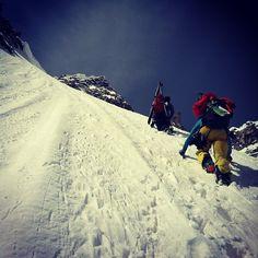 Earning your runs in Chamonix (via Arc'athlete Christina Lusti)