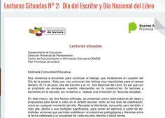 Bibliotecarios Escolares de la Región 6 CENDIE: Lecturas Situadas N° 2