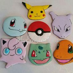 Pokemon sugar cookies