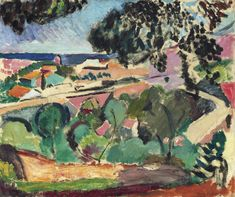 Henri Matisse (1869-1954) Paysage de Collioure signed 'Henri-Matisse' (lower right) oil on canvas 18 1/8 x 21 5/8 in. (46.1 x 55.1 cm.) Painted in 1906-1907 Christie's