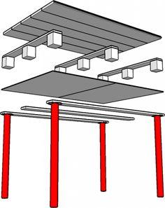 DIY Ikea Pallet Computer Desk Shelterness   Shelterness