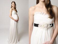 Vestidos de novia para embarazadas 6
