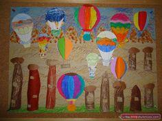 Kapadokya Peri Bacaları Manzarası - Önce Okul Öncesi Ekibi Forum Sitesi - Biz Bu İşi Biliyoruz