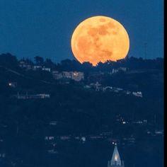 Full moon this Saturday night at Cal Bears Stadium