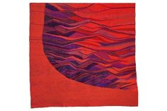 Selected tapestries from Silvia's forthcoming book, Movement in . Tapestries, The Selection, Tie Dye, Weaving, Outdoor Blanket, Textiles, Book, Image