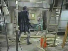 Batman Fight Scenes using Onomatopoeia