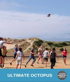 Ultimate Octopus. Love it. Youth Ministry Ideas and Games.
