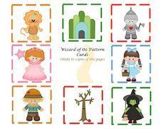Preschool Printables: Wizard of Oz Mini Printable