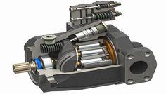Hydraulic Fluid, Hydraulic Cylinder, Hydraulic Pump, Hydraulic System, Gear Pump, 3d Cad Models, Cnc Projects, Plumbing Pipe, Technical Drawing