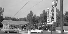 Hardee's began in the great state of NC, where we are headquartered! Courtesy of Our State Magazine. Visit North Carolina, North Carolina History, North Carolina Homes, Western North Carolina, Carolina Blue, State Of Nc, East Carolina University, Rocky Mount, Oak Island