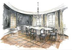 Raumkonzepte Peter Buchberger / Project: Villa Nymphenburg