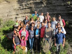 Lipari: Happy trekkers! Trekking tours guided by Conservation biologist, geologist, volcanologist. Visit: www.nesos.org