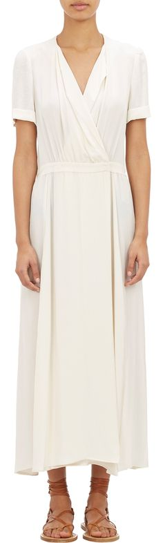 ISABEL MARANT ÉTOILE Flore Long Wrap Dress
