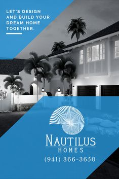 Extraordinary homes. Sarasota's premiere luxury home builder. Longboat Key, Waterfront Homes, Build Your Dream Home, Nautilus, Luxury Living, Home Builders, Home Projects, Custom Homes, Luxury Homes