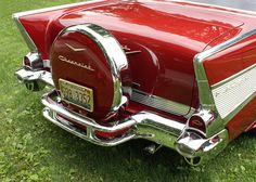 1957 Chevrolet Bel Air 2-Door Sport Coupe with continental kit
