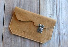 KP#1434 FLEX honey coloured leather wallet