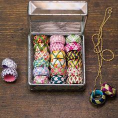 zakka collection [雑貨コレクション] 日本の四季を絹糸で描く 華やか加賀ゆびぬきの会(12回限定コレクション) フェリシモ