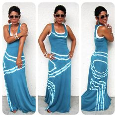 Cheap dress fashion, Buy Quality fashion dress directly from China blue dress Suppliers: Fashion Sexy Women Summer Sleeveless Evening Party Beach Long Maxi Sundress Dress Geometric Square Collar Blue Dresses Women's Summer Fashion, Look Fashion, Diy Fashion, Womens Fashion, Fashion Design, Summer Outfits, Cute Outfits, Summer Dresses, Weekend Dresses