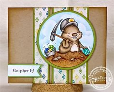 Go-Pher It! - SugarPea Designs! 8-) by SLWhite - Cards and Paper Crafts at Splitcoaststampers