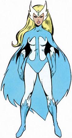 Snowbird (Alpha Flight) (Marvel Comics) from the handbook (JOHN BYRNE)