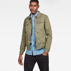 4de460876b6 The G-Star 3301 is a style neutral jacket with a classic construction.